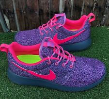 7be829420949 Nike Rosherun Print Women Shoes Sneaker Running US 7 UK 4.5 EUR 38 24cm