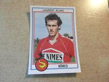 original FOOTBALL STICKERS PANINI FOOT 93 1993 Laurent BLANC