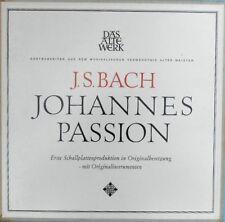 J.S. Bach Johannes passion Original cast Orig. Instruments NM Telefunken SKH19