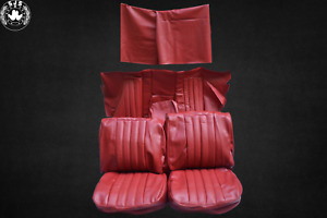 Seat Covers For Mercedes Benz W111 Coupe, Red 220 Seb 280 Se 250 Se New