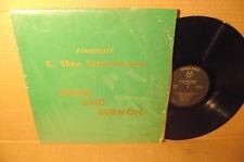 E. MAE RITTENHOUSE private LP rare BLACK GOSPEL solo vocalist SSW original songs