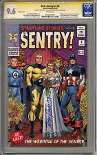 New Avengers #8 Variant John Romita Signature Series CGC 9.6 (W)