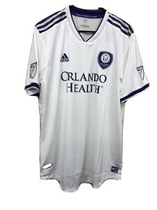 Adidas MLS Orlando City  Away Soccer Jersey Climacool Size XL NWT