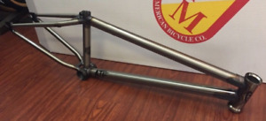 """S&M BIKES ATF FRAME GLOSS CLEAR 18 INCH BMX BIKE LTF SMALL 18"""" INCH FIT USA CULT"""