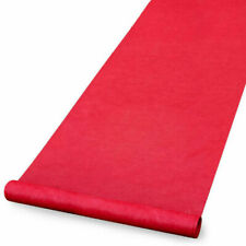 Wedding Aisle Runners RED Durable 100' Long Wedding Aisle Runner