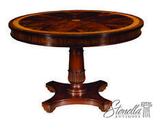L45822: HENKEL HARRIS Model #2200 Round Mahogany Center Table ~ Brand NEW