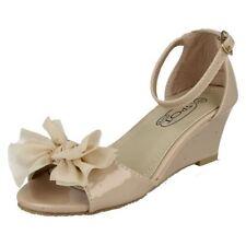 Sandales en synthétique pour fille de 2 à 16 ans pointure 30