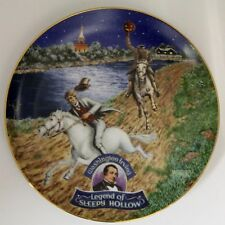 """The Legend Of Sleepy Hollow Plate Iii """" American Classics """" Collector Plate"""
