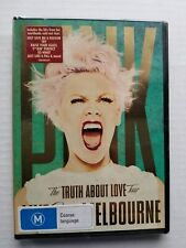 PINK - The Truth About Love DVD - NEW SEALED