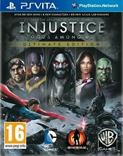 Injustice Gods Among Us Ultimate Edition PS Vita pour pal PS Vita (NEW & SEALED)