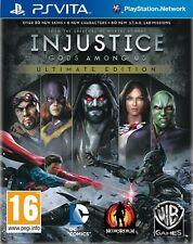 Injustice GODS AMONG US ULTIMATE EDITION PS Vita para PAL PS Vita (nuevo Y Sellado)