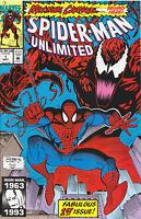 SPIDER-MAN UNLIMITED #1 (MAXIMUM CARNAGE)(1993) COMIC BOOK ~ 1st App. Shriek