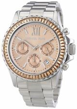 Michael Kors Women's MK5870 'Everest' Chronograph Crystal Stainless Steel Watch
