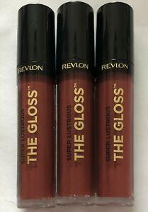 (3) Revlon Super Lustrous The Gloss High Shine Lipgloss, 270 Indulge In It