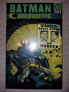 DC COMICS: BATMAN: BRUCE WAYNE FUGITIVE - VOLUME 1 - TRADE TPB (2003)