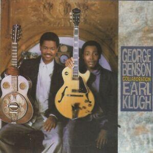 GEORGE BENSON EARL KLUGH 1987 jazz blues CD COLLABORATION ex cond. disctronics