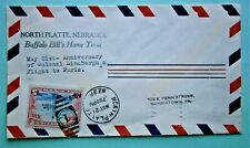 """1929 Air Mail """"Anniversary of Colonel Lindbergh's Flight to Paris"""""""