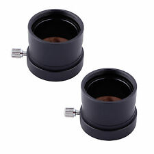 """2pcs 1.25"""" a 0.965"""" Telescopio Oculare Adattatore 31.7mm a 24.5mm Adattatore BEST"""