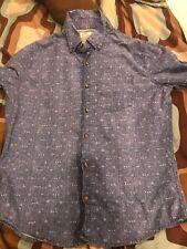 Hollister Mens Button Down Shirt Long Sleeve