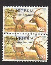 NIGERIA 1993 ROAN ANTELOPE Fine Used PAIR
