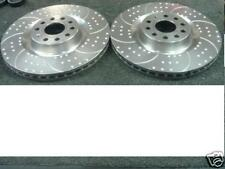 GOLF MK5 R32 PASSAT EOS  3.2 DIMPLED GROOVED BRAKE DISC