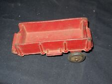 Vintage Arcor Safe Play Toys Rubber Toy Trailer