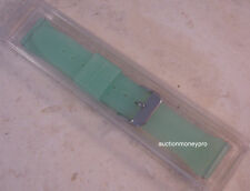 New Speidel Smooth Rubber Mint Green Sport Replacement Watch Band for most 18mm