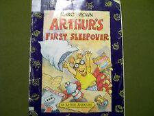 Arthur's First Sleepover by Marc Brown (1996, Paperback)