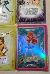 WINX CLUB 2004 COLLECTIBLE GAME CARDS BLOOM WNX - W3 carta da gioco card
