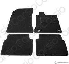 Renault Laguna 2007 to 2018 Fully Tailored Black Car Floor Mats Carpet 4pcs
