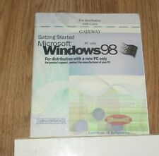 NEW SEALED  WINDOWS 98 SYSTEM SOFTWARE