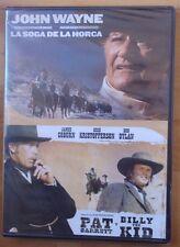 DVD (Nuevo) La Soga de la Horca.Pat Garrett y Billy The Kid