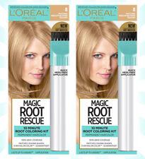 2 L'Oreal Paris Magic Root Rescue 10 Min Hair Coloring Kit 8 Medium Blonde