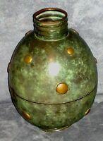 Vaso in bronzo periodo futurista marcato IAMA