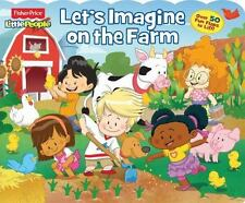 Fisher-Price Little People Let's Imagine on the Farm (Lift-the-Flap)