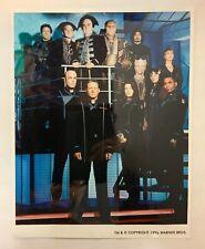 Babylon 5 Glossy Cast Photo 1996 14� X 11�