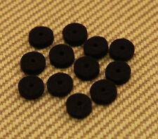 099-4929-000 (12) Genuine Fender Black Guitar & Bass Strap Button Felt Washers