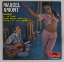 Marcel Amont 45 tours Dorothée Polydor