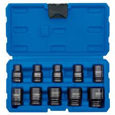 Draper 10 piezas 1.3cm cuadrado 10mm-27mm Métrico llave de Impacto/conductor