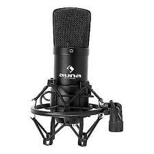 Auna Cm001b Studio Microphone Condenser With 6m XLR Cable
