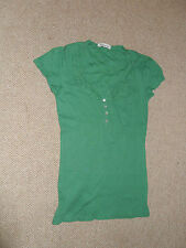 Laura Ashley embroidery detail t shirt - size 8