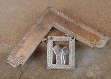 More details for masonic worshipful master collar jewel  1972 12cm's 9.5 cm