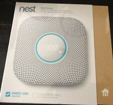 Nest Protect smoke & carbon monoxide alarm, Wired - New - Factory Sealed