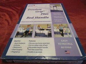 MTS Freedom Grip PLUS Adjustable Travel Bed Handle Grab Bar Frame Assist