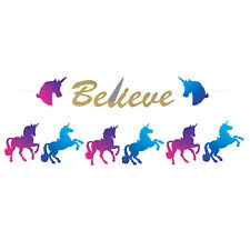 12ft Unicorn GARLAND Streamer BELIEVE IN FAIRYTALES Birthday Party DECORATION