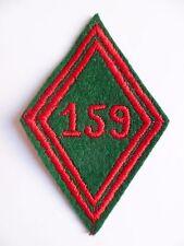 Losange tissu modèle 1945 patch CIT 159 CENTRE INSTRUCTION DU TRAIN ORIGINAL
