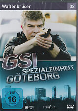 GSI - Spezialeinheit Göteborg 2 - Waffenbrüder - DVD - Neu und originalverpackt