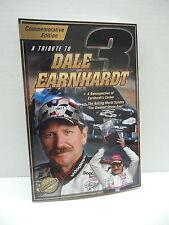 Tribute To Dale Earnhardt Book NASCAR Intimidator #3 Chevrolet Race Car