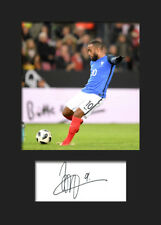 Alexandre Lacazette #3 - France Signed Photo A5 Mounted Print - FREE DELIVERY
