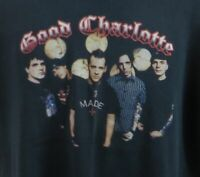 Good Charlotte Young and Hopeless Tour Black 1996 Tshirt Size Large